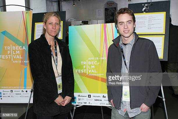 Amy Sewell director of 'Mad Hot Ballroom' and Robert Burke director of 'Max Rules' attend 'Downtown Youth Behind The Camera' at the Tribeca Film...