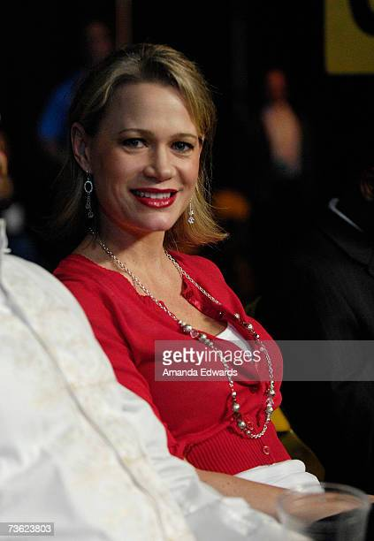 Amy Shamrock attends the IFL Fight Night at The Forum on March 17, 2007 in Inglewood, California.