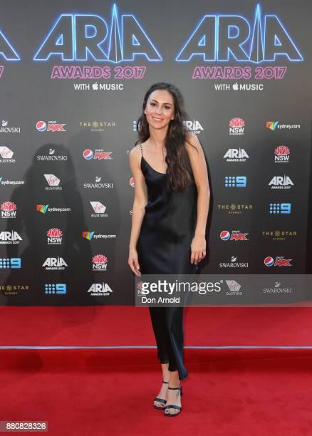 Amy Shark arrives for the 31st Annual ARIA Awards 2017 at The Star on November 28 2017 in Sydney Australia