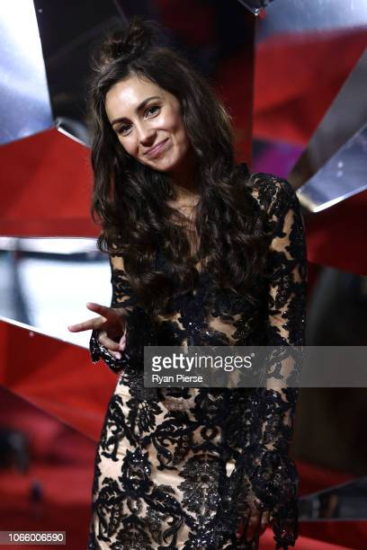 Amy Shark arrives for the 32nd Annual ARIA Awards 2018 at The Star on November 28 2018 in Sydney Australia