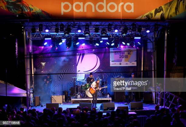 Amy Shark performs onstage at Pandora during SXSW at Stubb's BarBQ on March 15 2018 in Austin Texas