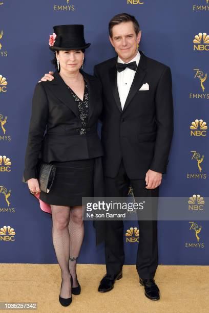 Amy ShermanPalladino and Daniel Palladino attend the 70th Emmy Awards at Microsoft Theater on September 17 2018 in Los Angeles California