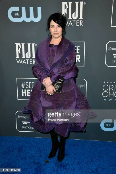 Amy ShermanPalladino attends the 25th Annual Critics' Choice Awards at Barker Hangar on January 12 2020 in Santa Monica California