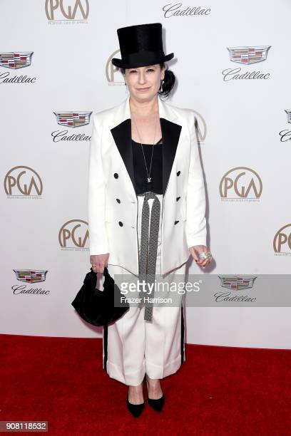 Amy ShermanPalladino attends the 29th Annual Producers Guild Awards at The Beverly Hilton Hotel on January 20 2018 in Beverly Hills California