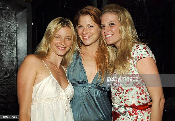Amy Smart Ali Larter and Ali Wise director of PR at Dolce Gabbana wearing Dolce Gabbana#13#10#13#10*Exclusive*#13#10