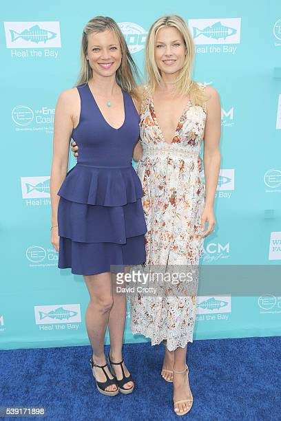 Amy Smart and Ali Larter attend Heal the Bay's Bring Back the Beach Gala at The Jonathan Beach Club on June 9 2016 in Santa Monica CA