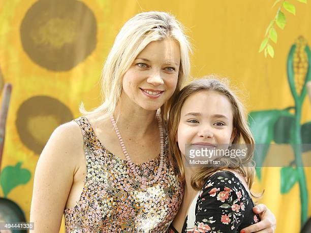 Amy Smart and Johnny Sequoyah attend The Environmental Media Association's 5th Annual LA School Garden Program Luncheon held at Westminster Avenue...