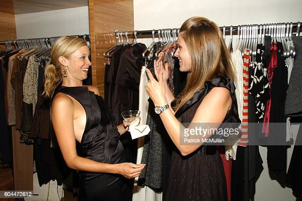 Amy Smart and Kristin Eberts attend Opening of AURA hosted by Kristin Eberts and Amy Smart at Los Angeles on August 16 2006