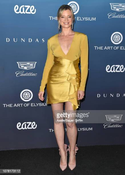 Amy Smart attends The Art of Elysium's 12th Annual Celebration Heaven on January 5 2019 in Los Angeles California