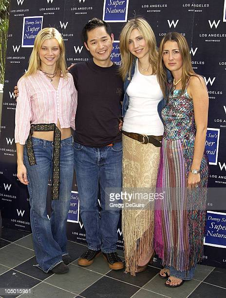 Amy Smart, Danny Seo, Sarah Chalke & Anna Getty during 2nd Annual Danny Seo's SuperNatural Super Suite at The W Hotel in Westwood, California, United...