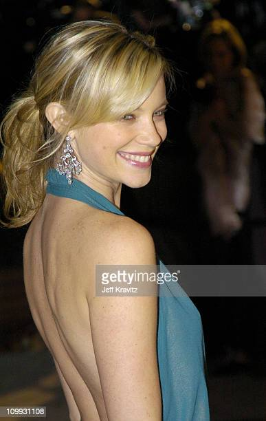Amy Smart during 2004 Vanity Fair Oscar Party at Mortons in Beverly Hills California United States
