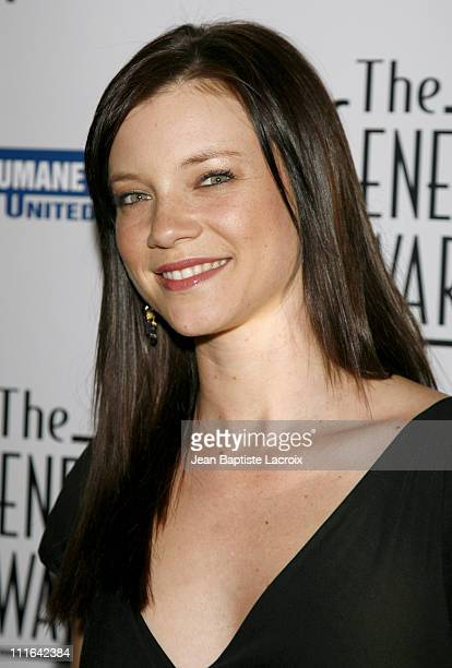 Amy Smart during 21st Genesis Awards Presented by The Hollywood Office of The Humane Society of the United States at Beverly Hilton Hotel in Beverly...
