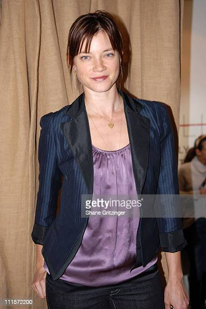 Amy Smart during DKNY Jeans 401 Projects Hosted by Lenny Kravitz and Zoe Kravitz at 401 Projects in New York City NY United States