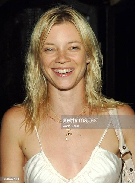 Amy Smart during Dolce Gabbana Honors the Salma Hayek Foundation at Roosevelt Hotel in Los Angeles California United States