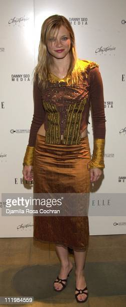 Amy Smart during Elle Magazine Party at Felissimo Design House in New York City New York United States