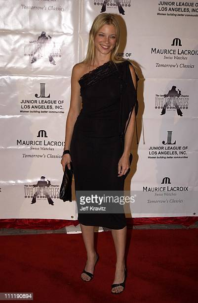 Amy Smart during Junior League of LA Viva Los Angeles Casino Night at Jim Henson Studios in Hollywood CA United States