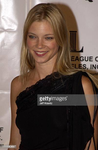Amy Smart during Junior League of LA Viva Los Angeles Casino Night at Jim Henson Studios in Hollywood CA United States