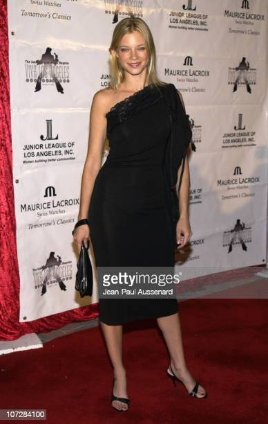 Amy Smart during Maurice Lacroix Presents The Junior League of Los Angeles 'Viva Los Angeles' Casino Night Arrivals at Jim Henson Studios in...