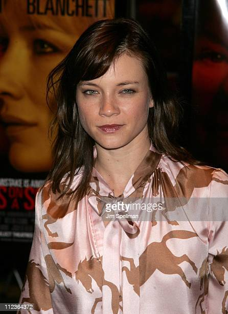 Amy Smart during 'Notes on a Scandal' New York Premiere Outside Arrivals at Cinema 1 in New York City New York United States