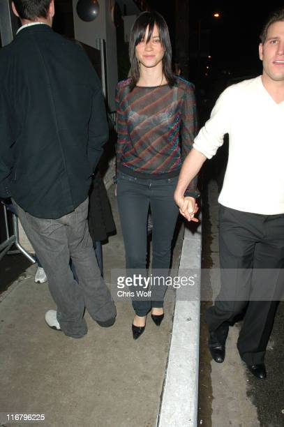 Amy Smart during Pamela Anderson Sighting at Area Club January 27 2007 at Area in Beverly Hills California United States
