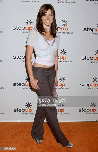 Amy Smart during Step Up Women's Network Inspiration Awards Luncheon Arrivals Awards at Beverly Hilton Hotel in Beverly Hills California United States