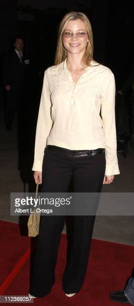 Amy Smart during The Lord Of The Rings The Two Towers Los Angeles Premiere Arrivals at Cinerama Dome Theatre in Hollywood California United States