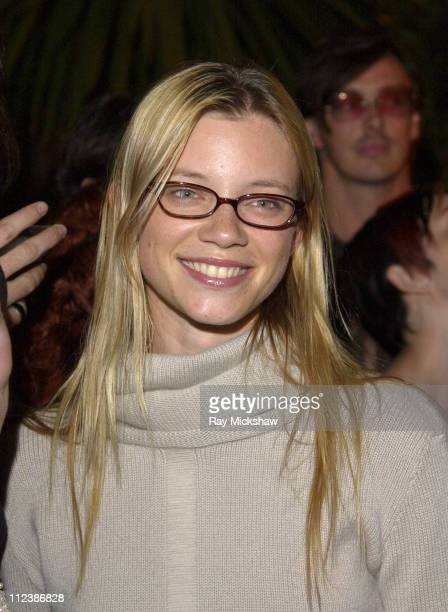Amy Smart during W Magazine and Bacardi Limon Host a Tribute to Vintage Fashion Inside at Chateau Marmont in Hollywood California United States