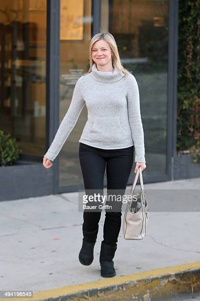 Amy Smart is seen on January 04 2013 in Los Angeles California