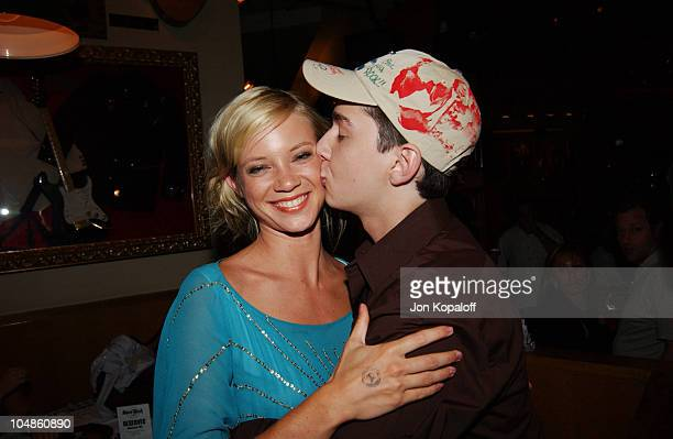 Amy Smart Shia LaBeouf during World Premiere Of 'The Battle Of Shaker Heights' After Party at Hard Rock Restaurant in Universal City California...