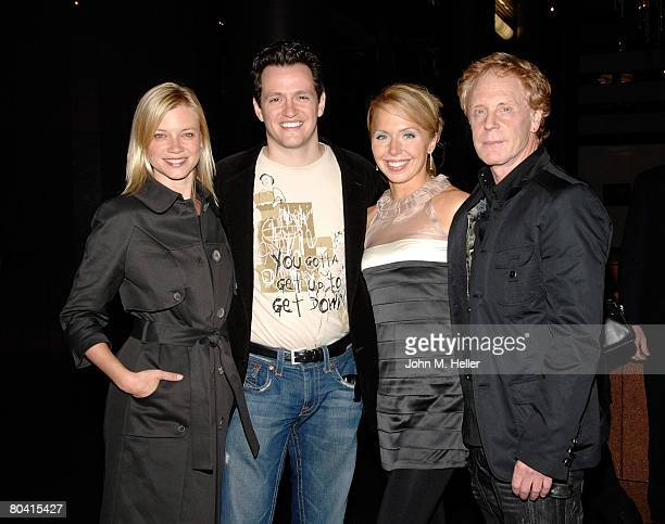 Amy Smart Tom Malloy Nicola Royston and Robert Iscove Director Love N' Dancing attend the screening of Love N' Dancing on at the Directors Guild of...
