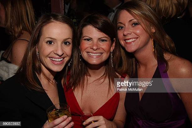 Amy Stamp Julie Fields and Angel Wood attend PostInaugural Ball Party from Maker's Mark Stoli and Perrier Jouet at Smith Point Bar on January 20 2005...
