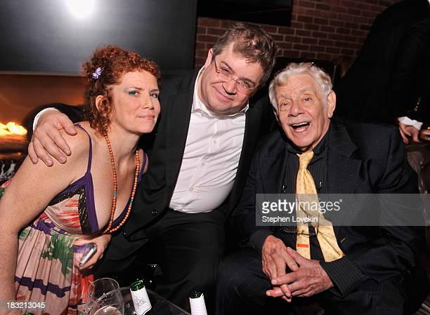 Amy Stiller actor/comedian Patton Oswalt and Jerry Stiller attend the Centerpiece Gala Presentation Of The Secret Life Of Walter Mitty after party...