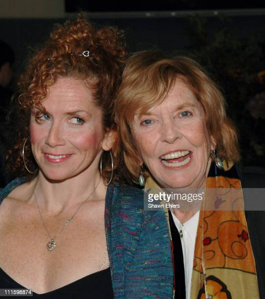 Amy Stiller and Ann Meara during Calhoun School Celebrates Opening of Performing Arts Center at Calhoun School in New York CIty New York United States