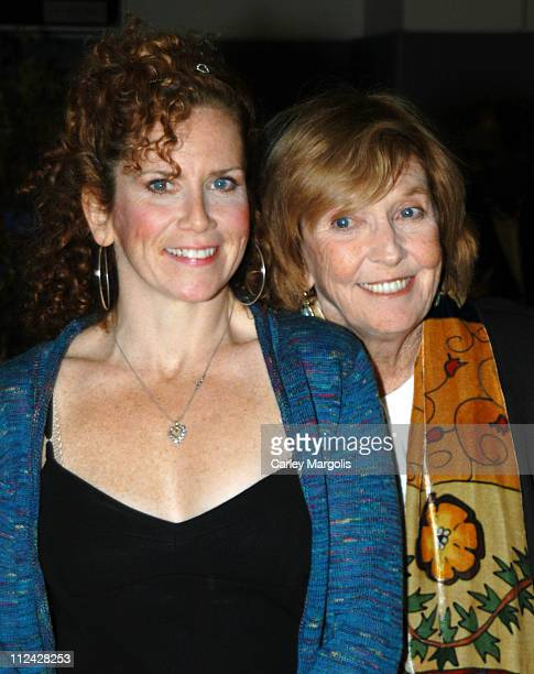 Amy Stiller and Anne Meara during Calhoun School Benefit Gala to Celebrate Opening of Performing Arts Center at Calhoun School in New York City, New...