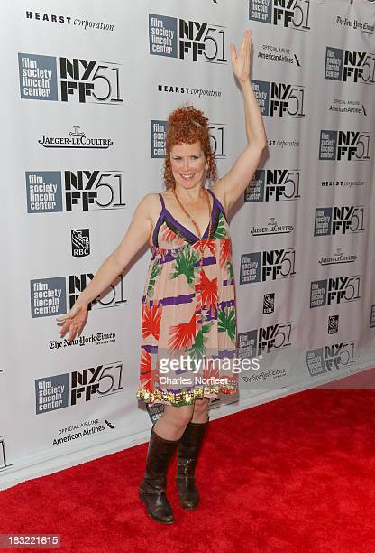 Amy Stiller attends the Centerpiece Gala Presentation Of The Secret Life Of Walter Mitty during the 51st New York Film Festival at Alice Tully Hall...