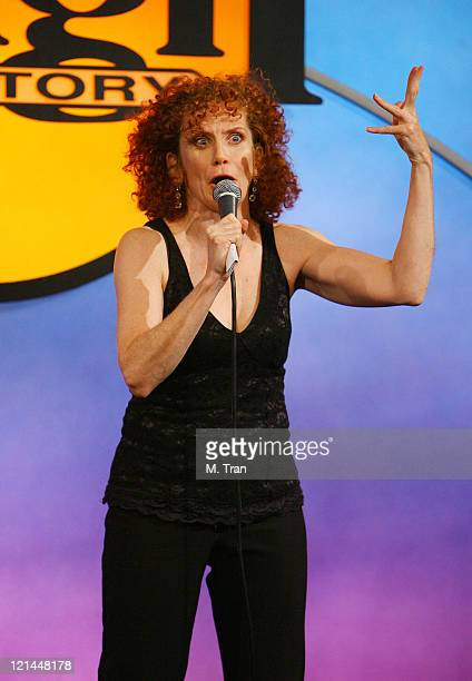 Amy Stiller during First Annual Friends for Life A Night of Comedy to Benefit LifeWorks Mentoring at Laugh Factory in West Hollywood California...
