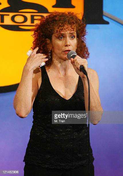 "Amy Stiller during First Annual ""Friends for Life: A Night of Comedy"" to Benefit LifeWorks Mentoring at Laugh Factory in West Hollywood, California,..."