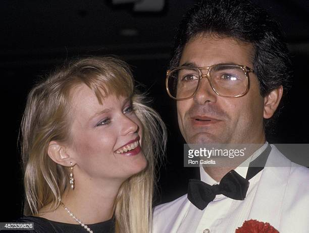 Amy StockPoynton and Bobby Poynton attend 32nd Annual Thalians Ball on October 17 1987 at the Century Plaza Hotel in Century City California