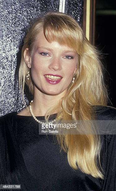 Amy StockPoynton attends 32nd Annual Thalians Ball on October 17 1987 at the Century Plaza Hotel in Century City California
