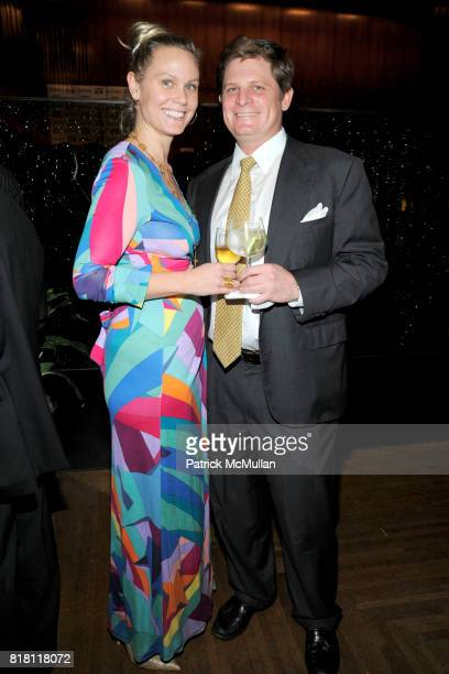 Amy Strife and Andrew Strife attend New York POST EditorinChief COL ALLAN Hosts Party For RICHARD JOHNSON's 25 Years at PAGE SIX at 4 Seasons...