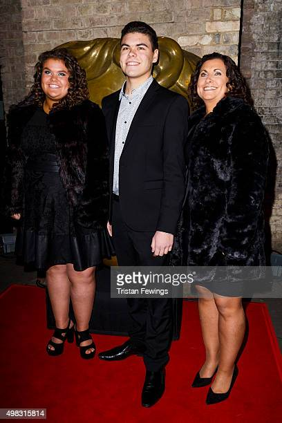 Amy Tapper and Josh Tapper attend the British Academy Children's Awards at The Roundhouse on November 22 2015 in London England