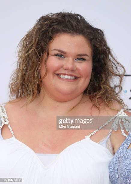 Amy Tapper during Comedy Central's FriendsFest: London Photocall at Clapham Common on June 24, 2021 in London, England.