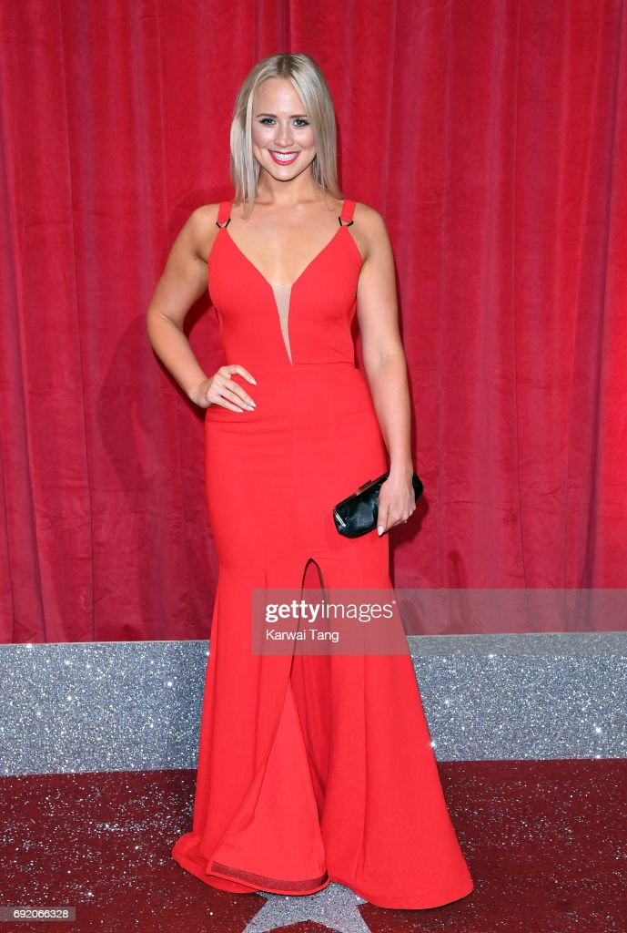Amy Walsh attends the British Soap Awards at The Lowry Theatre on June 3, 2017 in Manchester, England.