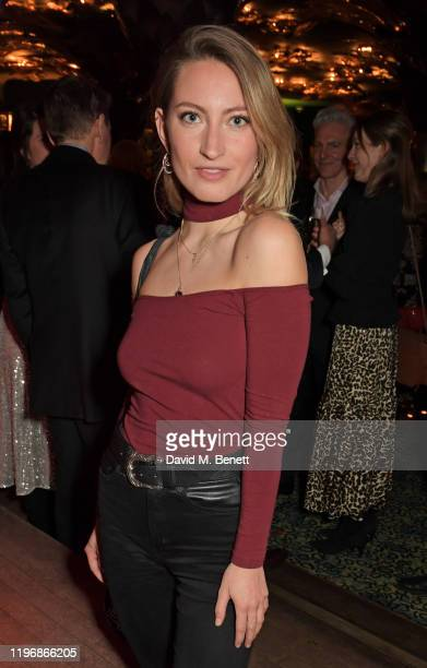 Amy Webster attends the 'Country Town House Great British Brands' party at Annabel's on January 27 2020 in London England
