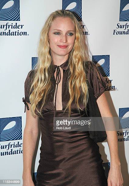 """Amy Wesson during Surfrider Foundation presents """"Art for the Oceans"""" - October 15, 2005 at Milk Studios in New York City, New York, United States."""