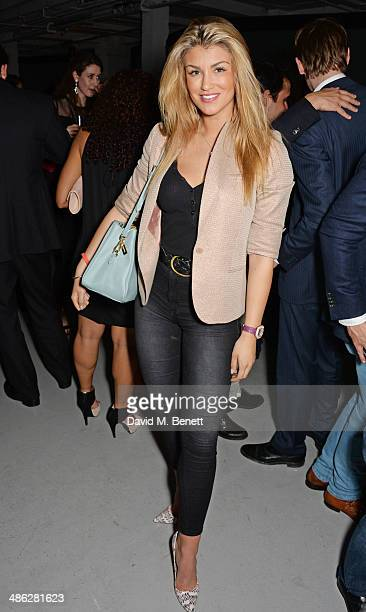 Amy Willerton attends the Audemars Piguet Royal Oak Offshore 42mm Party at Victoria House on April 23 2014 in London England