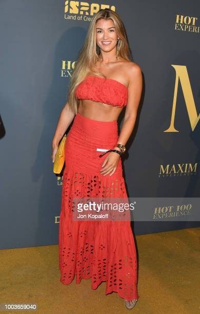 Amy Willerton attends The Maxim Hot 100 Experience at Hollywood Palladium on July 21 2018 in Los Angeles California