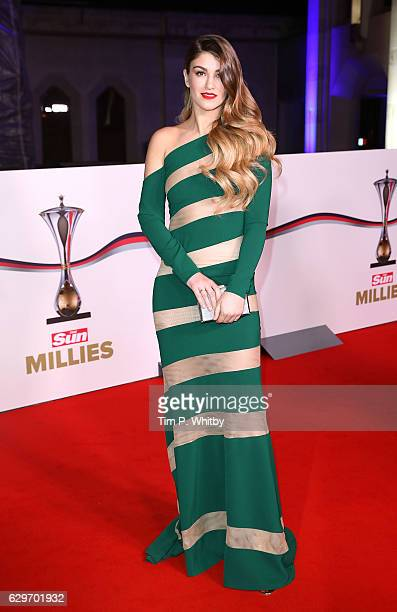 Amy Willerton attends The Sun Military Awards at The Guildhall on December 14 2016 in London England