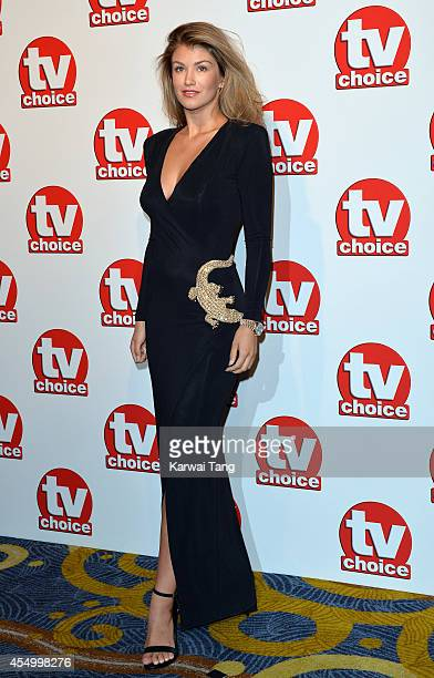 Amy Willerton attends the TV Choice Awards 2014 at London Hilton on September 8 2014 in London England