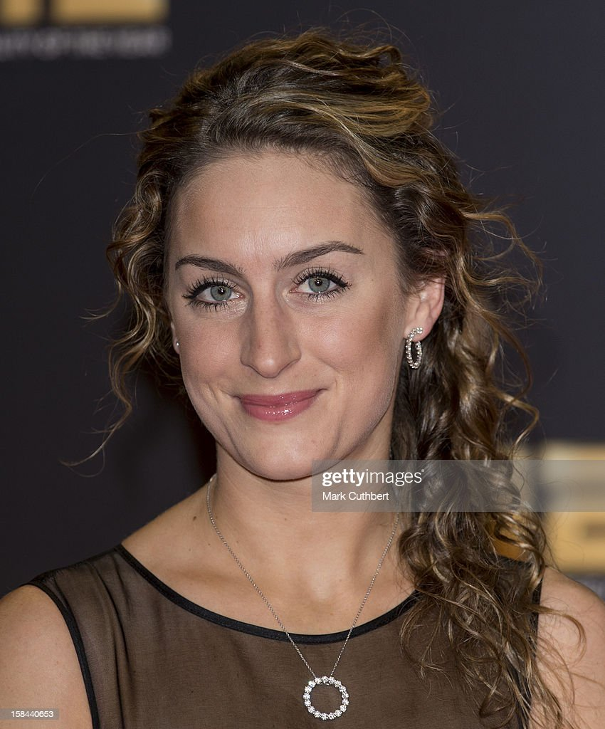 Amy Williams attends the BBC Sports Personality Of The Year Awards at ExCel on December 16, 2012 in London, England.
